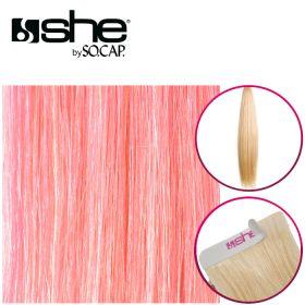 So Cap Suora Teippipidennys Pink 4 kpl 40-45 cm