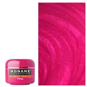 Noname Cosmetics Pink Metallic UV geeli 5 g