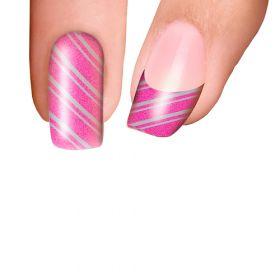 Trendy Nail Wraps Pretty In Pink Kynsikalvo kärkikalvo