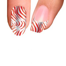 Trendy Nail Wraps Sweet And Spicy Kynsikalvo koko kynsi