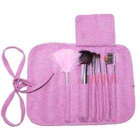 Noname Cosmetics Pinkki Meikkisivellinsetti 6 kpl