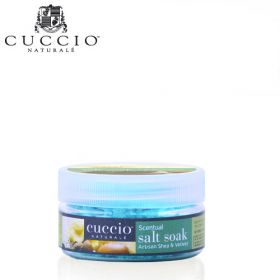 Cuccio Naturalé Artisan Shea & Vetiver Scentual Salt Soak jalkakylpysuola 45 g