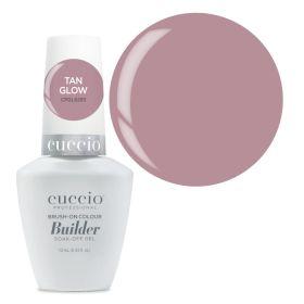 Cuccio Tan Glow Brush-On Colour Builder With Calcium LED/UV geeli 13 mL