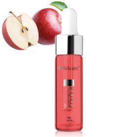 Silcare Apple Red Garden of Colour Kynsinauhaöljy pipetillä 15 mL