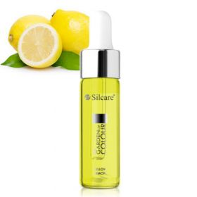 Silcare Citron Yellow Garden of Colour Kynsinauhaöljy pipetillä 15 mL