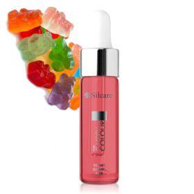 Silcare Yummy Gummy Garden of Colour Kynsinauhaöljy pipetillä 15 mL