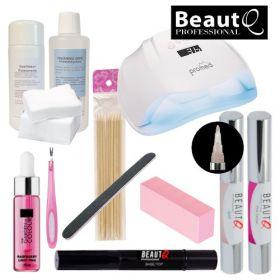 BeautQ Professional Longlife Pen Geelilakkakynä-aloituspaketti Promed UVL-54 UV&LED-uunilla