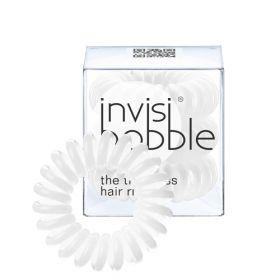 Invisibobble Innocent White Valkoiset Invisibobble Hiuslenkit 3 kpl
