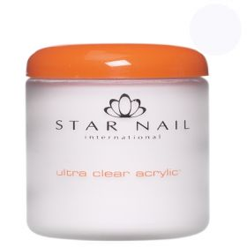 Star Nail Super Valkoinen Ultra Clear akryylipuuteri 161 g