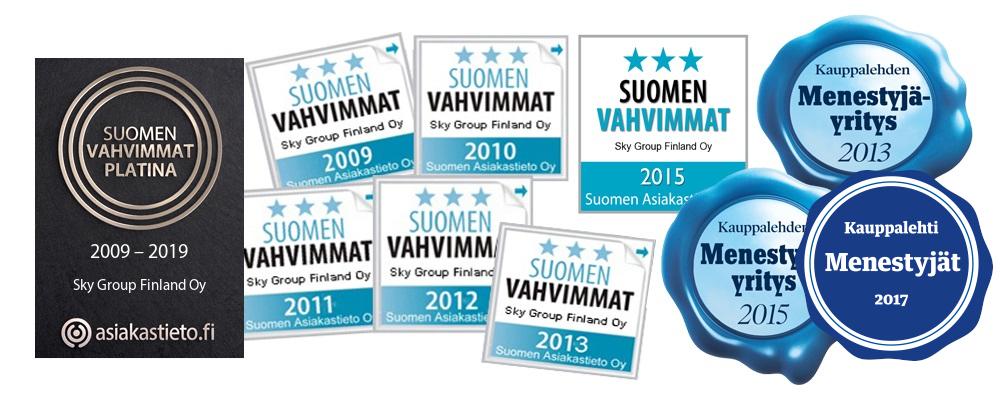 Menestyjä Sky Group Finland Oy